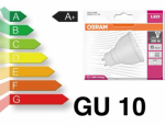 LED GU10 5W Warmweiss ( 5 Watt) Power LED 60°